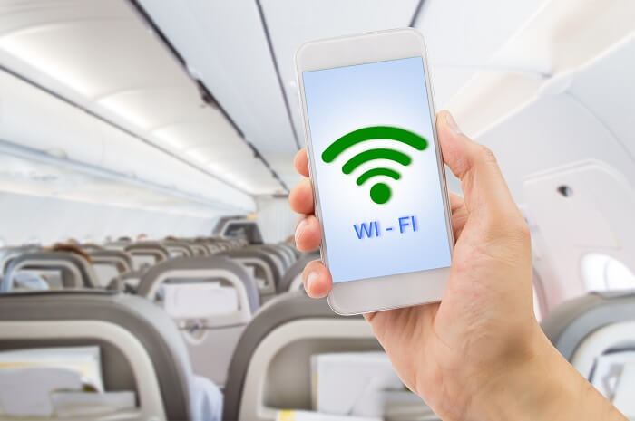providing wifi on flight