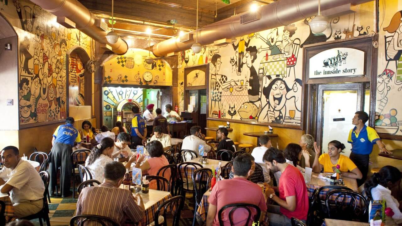 Inside of parsi cafe