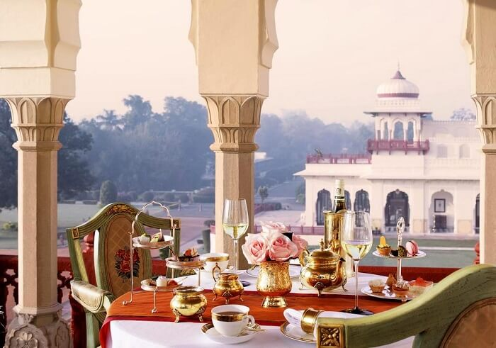 open dining in rambagh