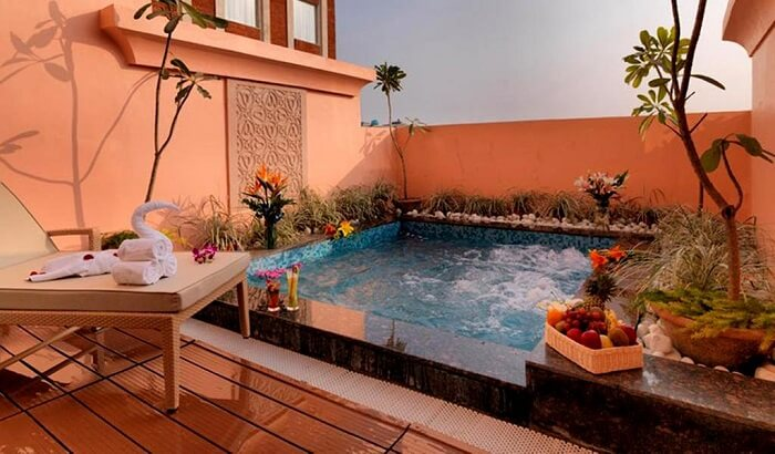 plunge pool royal orchid