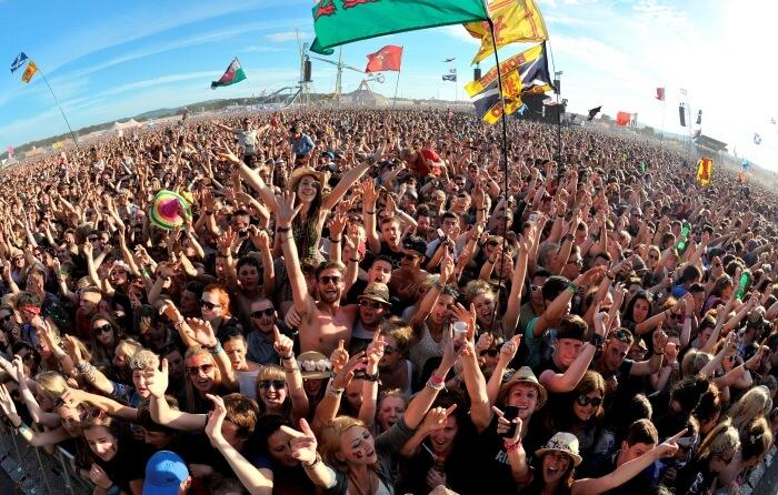 Music festival in Scotland