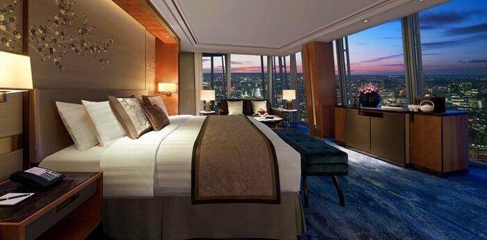 shangri la hotel in london