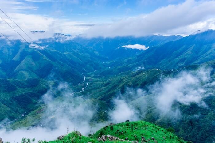 Mist in Shillong