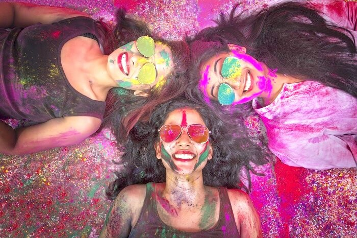 Colour By The Bay Holi Festival at marine drive