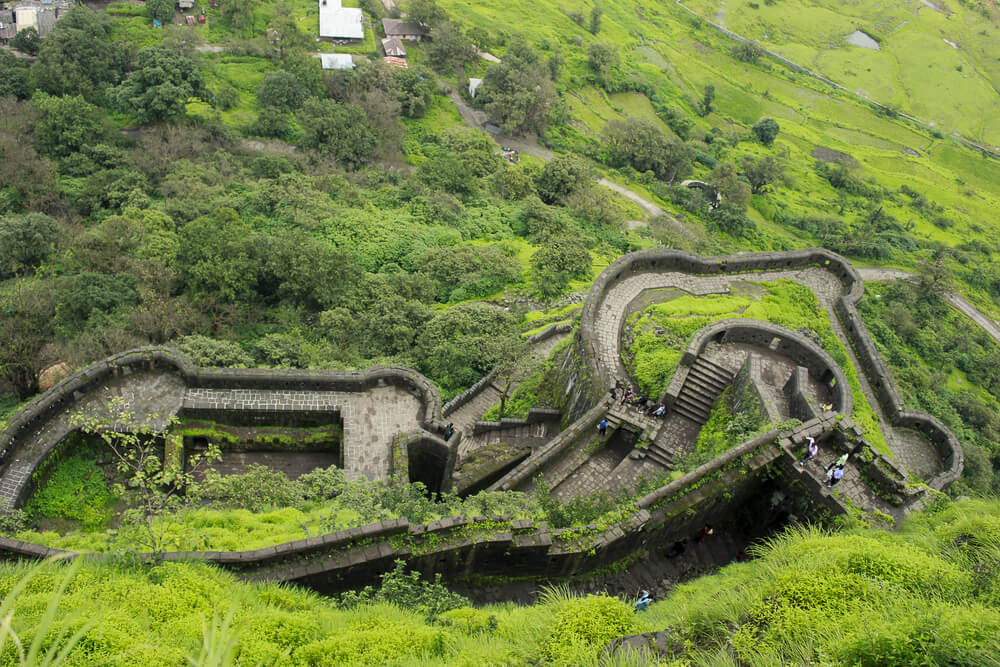 Lohagarh Fort from above