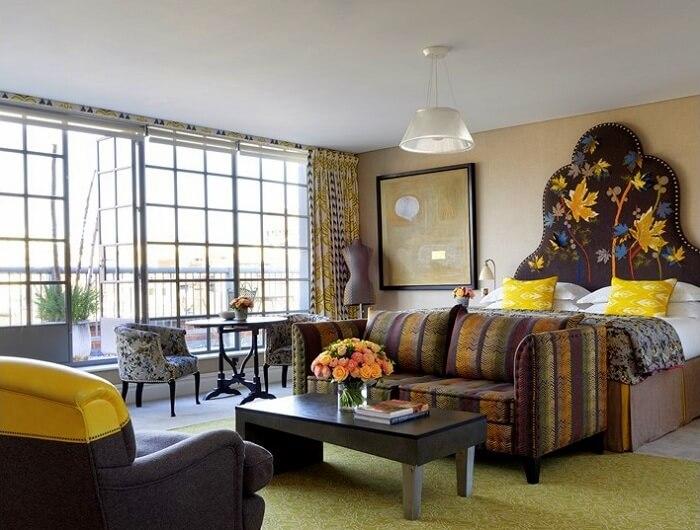 soho hotel london room