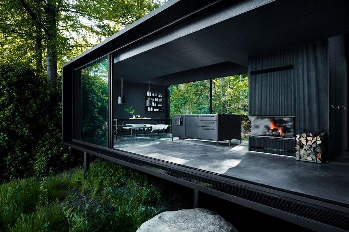 living room of vipp shelter