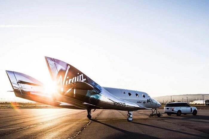 virgin galactic vss unity space hanger