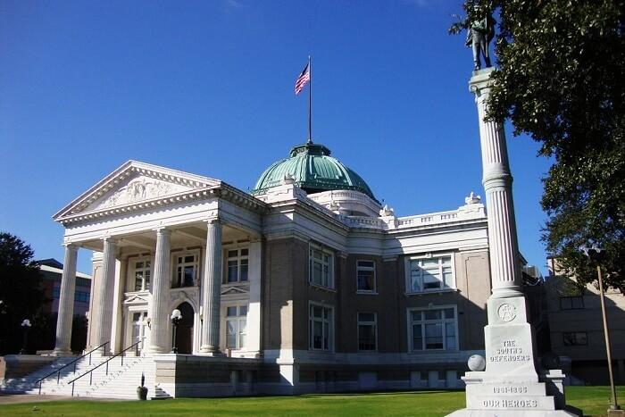 Calcasieu Courthouse, Louisiana