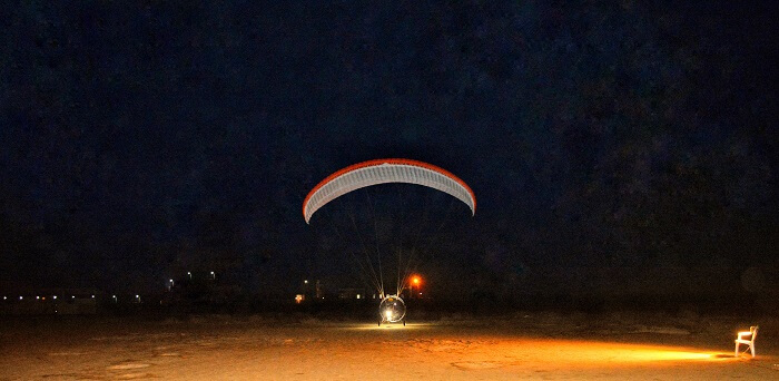 Paramotoring at Rann of Kutch