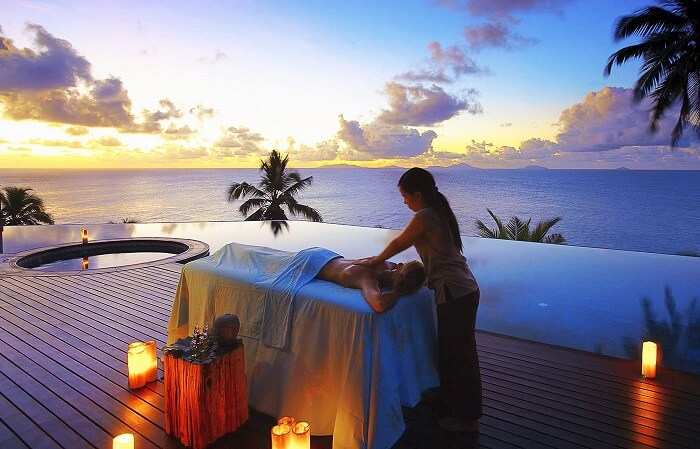 Rock Spa, Seychelles
