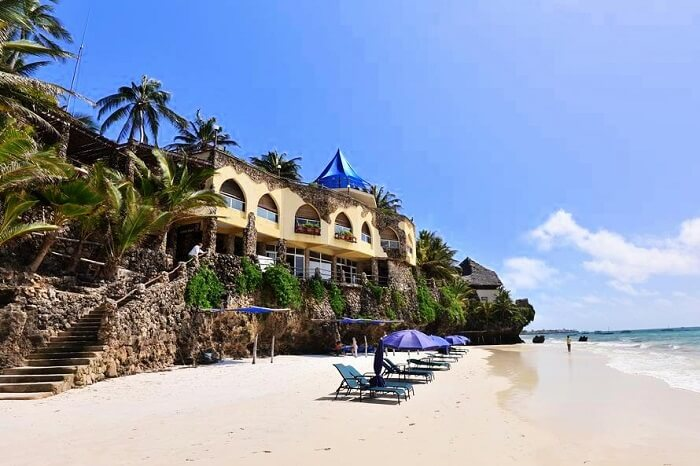 Bahari Beach Hotel Kenya