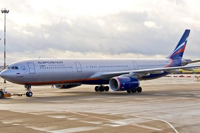 Aeroflot fire on flight