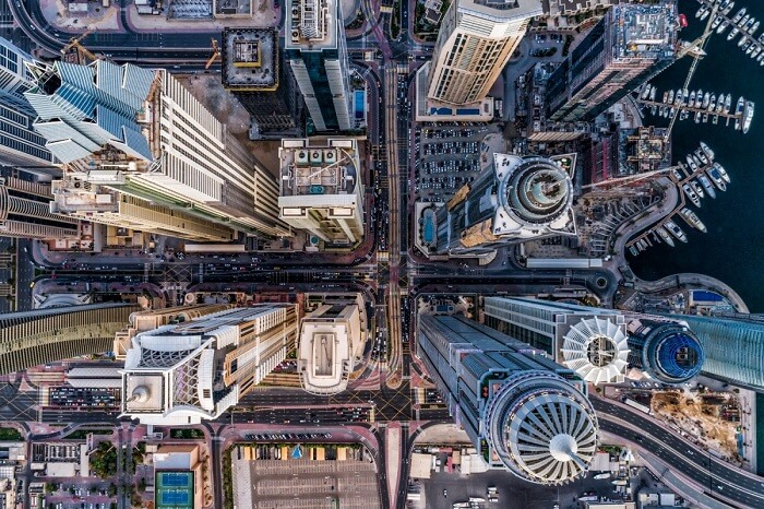 Best Drone Photos of 2017: CONCRETE JUNGLE