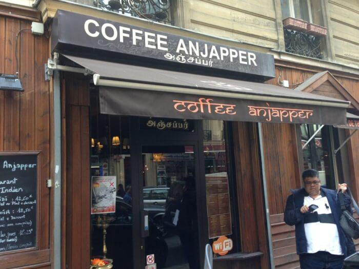 Coffee Anjapper in Paris