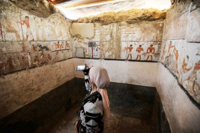 4,400-Year Old Tomb In Egypt