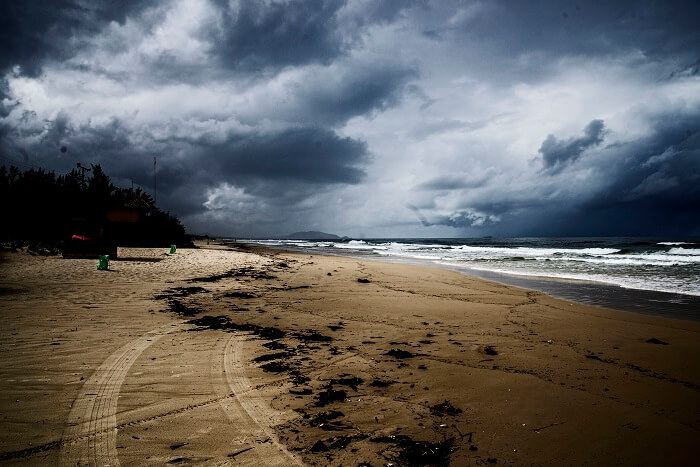 Dumas Beach, one of the most haunted places in Gujarat