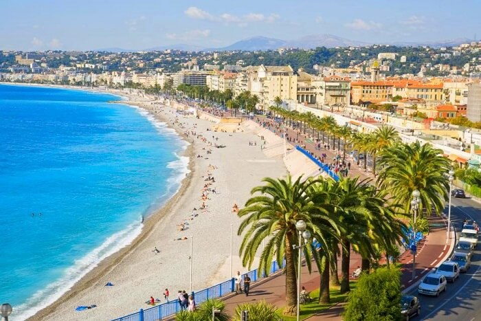 Hit the beaches of Nice in France