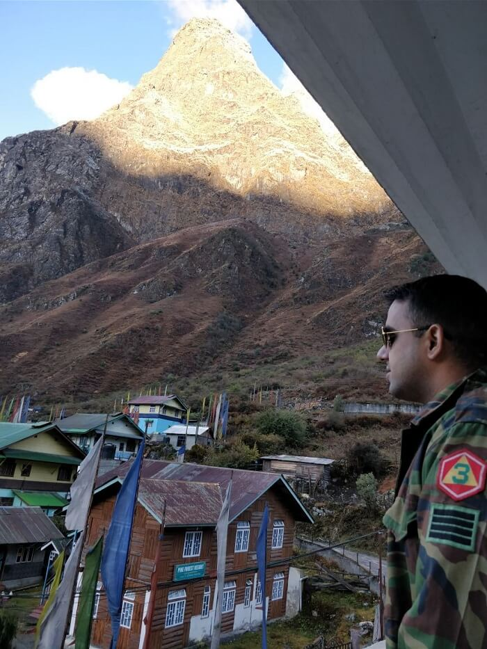 Lachung visit in northeast