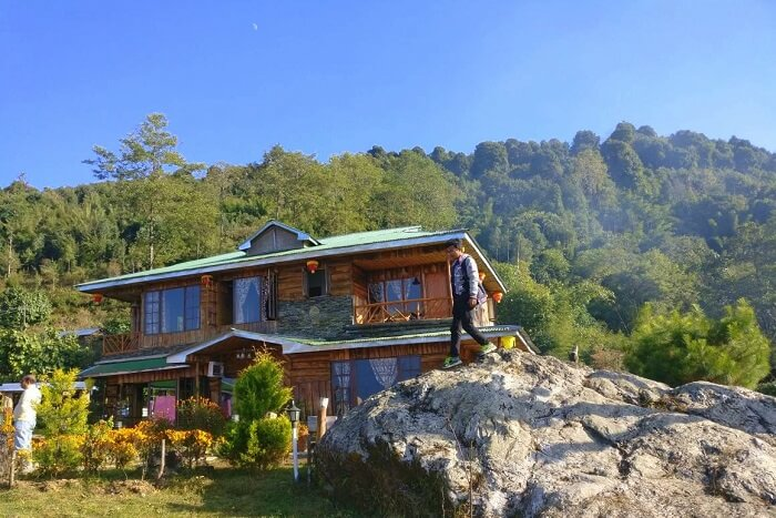 Shantanu northeast trip- hotel in pelling sodizang retreat