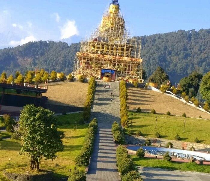 Shantanu northeast trip- buddha statue