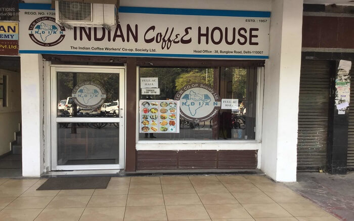 Indian coffee house from outside