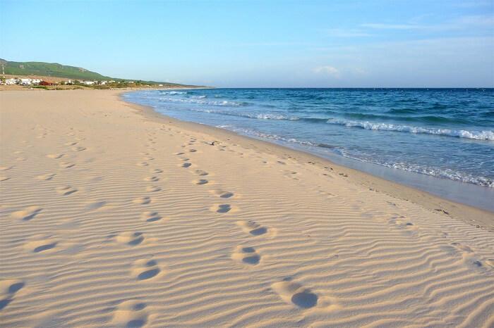 Playa De Bolonia beach in spain