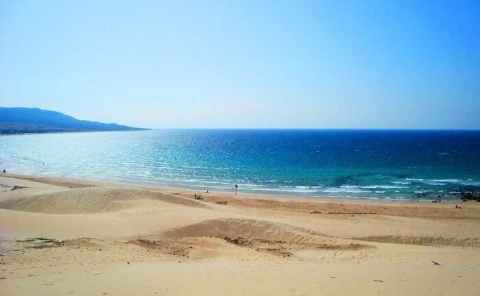 Playa De Los Genoveses beach in spain