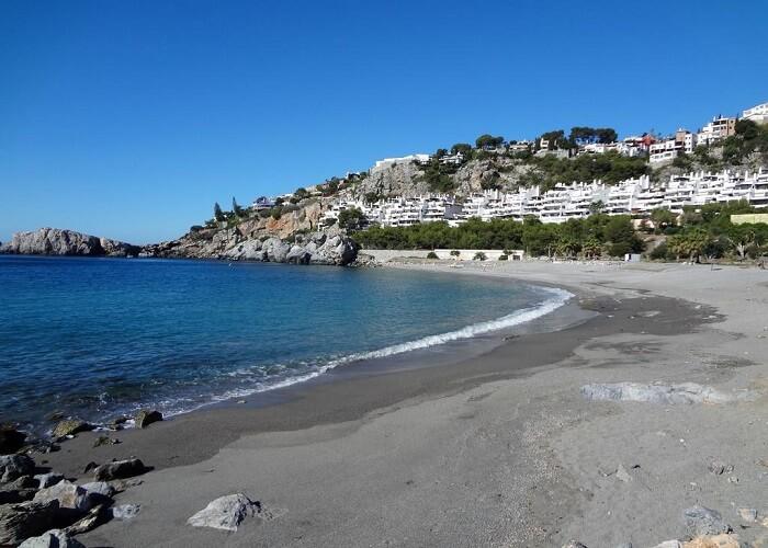 Playa La Herradura beach in spain
