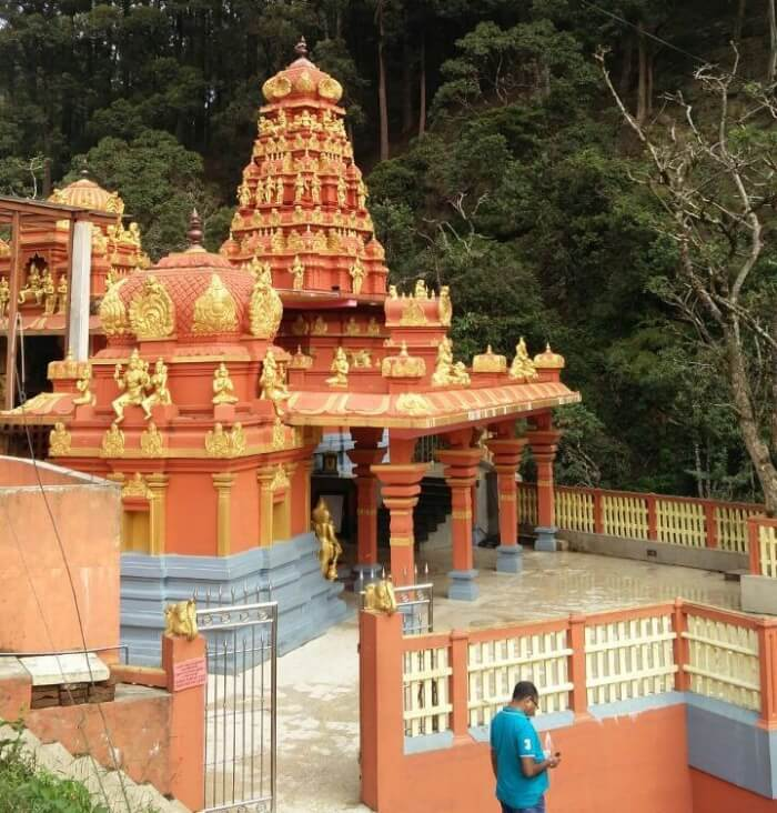 Temple in Sri Lanka