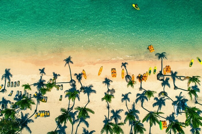 TROPICAL ISLAND BEACH, DOMINICAN REPUBLIC