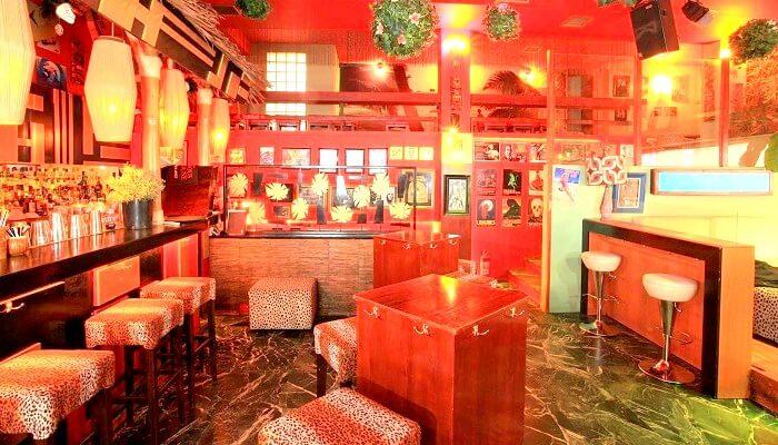 Tiki Bar in Athens Greece