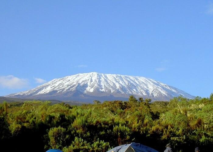 view of mount kilimanjaro