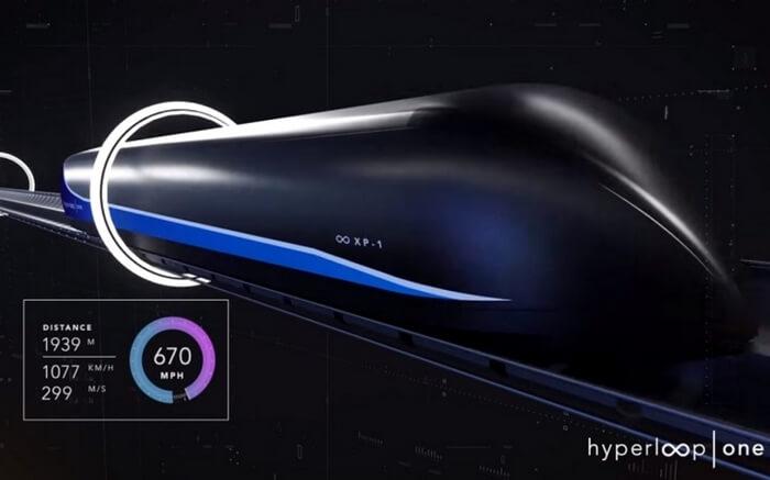 Virgin Hyperloop One from Pune To Mumbai