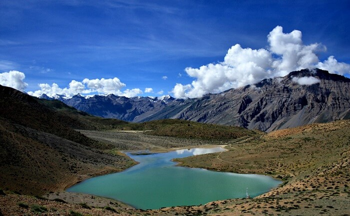 dhankar lake trek spiti