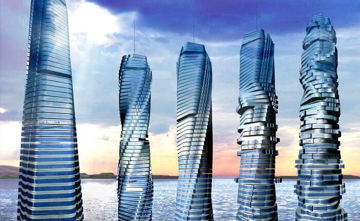 dynamic tower in dubai