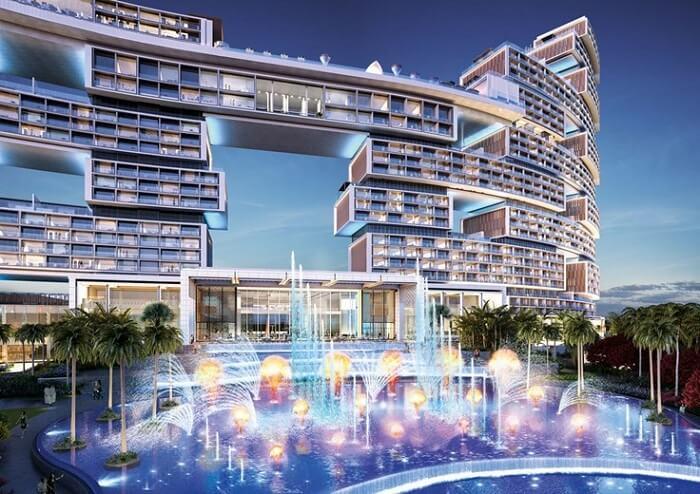 exteriors of luxury residential aprtment in dubai