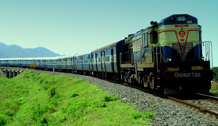 namdapha by train
