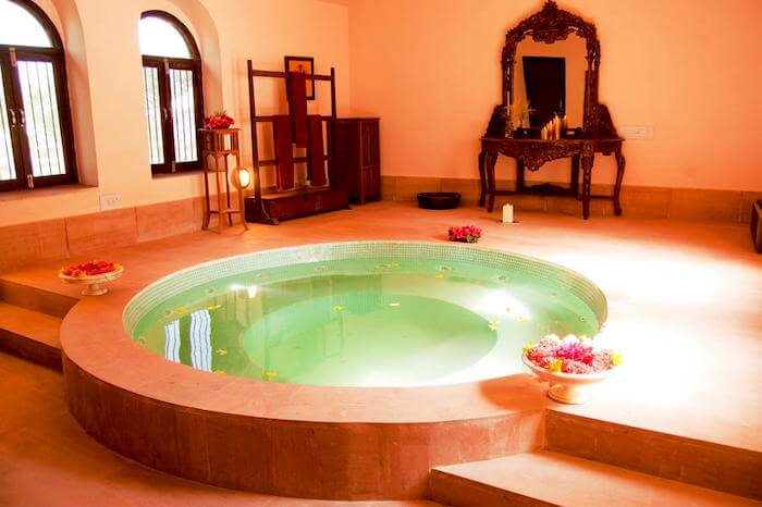 mirvana nature resort private spabest resorts in jaisalmer