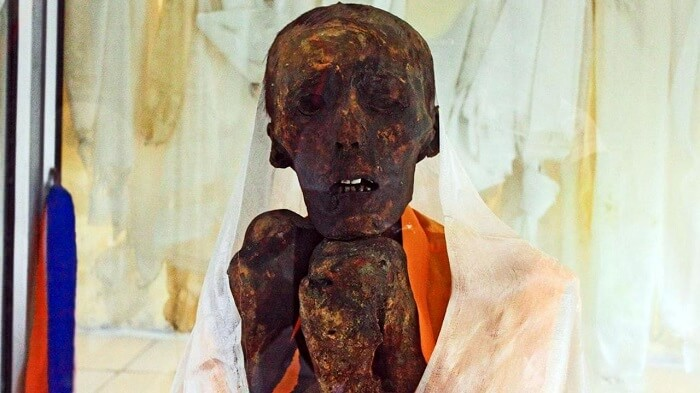 mummy in giu village