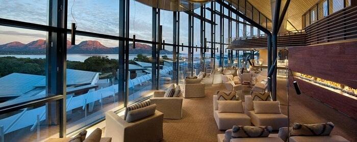 lobby of Saffire Freycinet australia