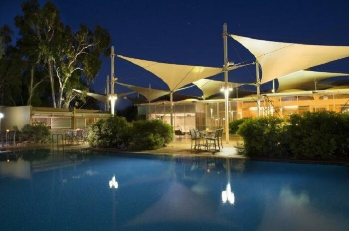 Sails in the Desert resort australia