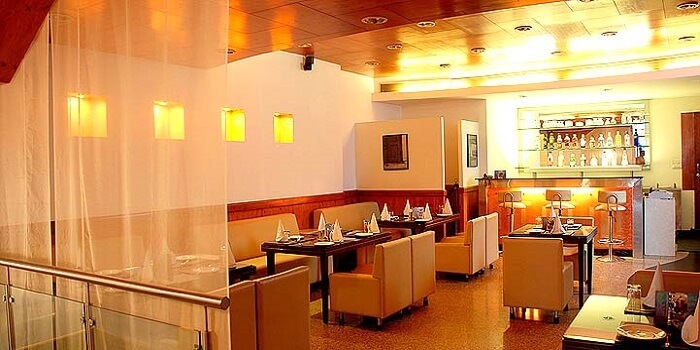 Interior of Prez restaurant Dehradun