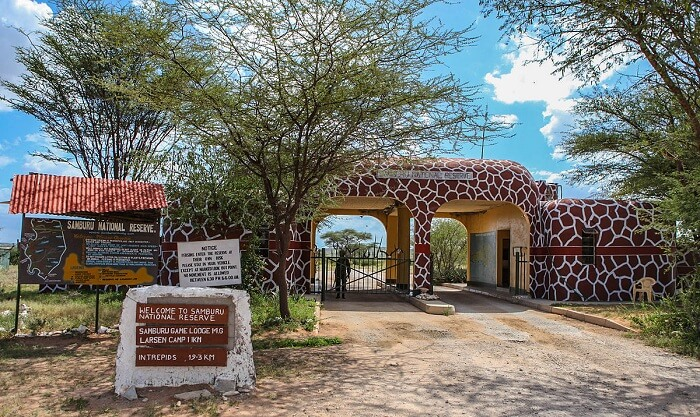 entry of samburu national reserv Kenya