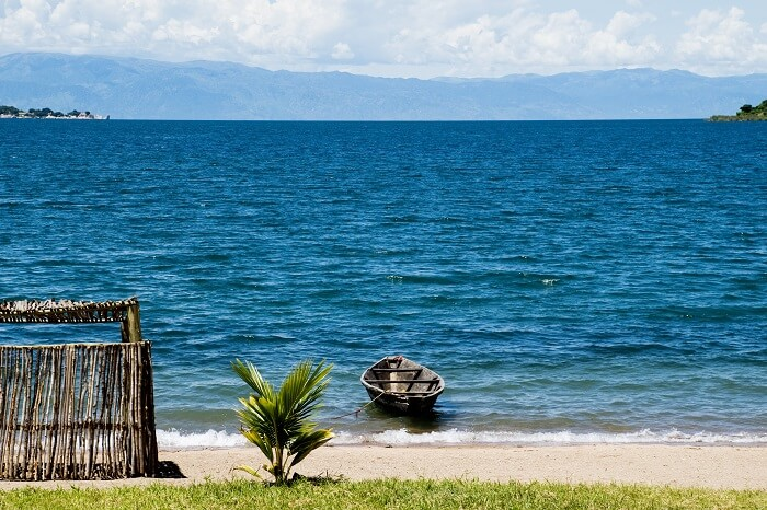 View of Tanganyika Lake Tanzania