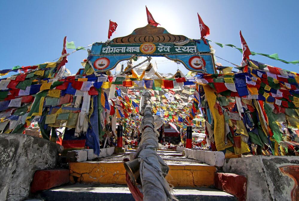 Changla baba temple
