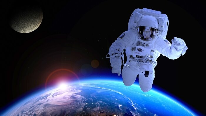spacewalking