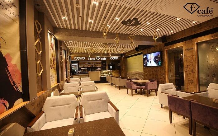 stylish fashion cafe