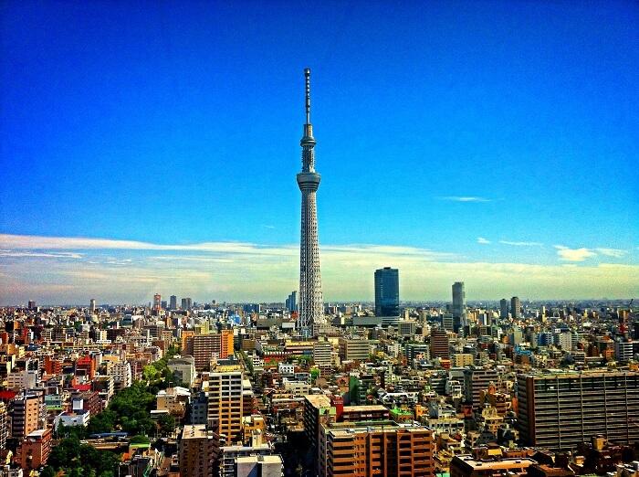 skytree in tokyo