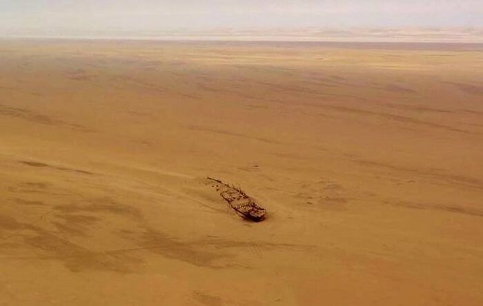 Shipwreck lodge in Namibia